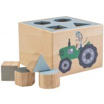 Sebra shape sorter box farm boy