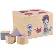 Sebra shape sorter box farm girl