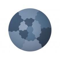 Sebra: Play Mat - cloud blue