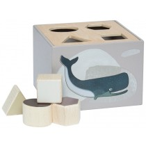 Sebra shape sorter box ARTIC ANIMALS