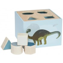Sebra shape sorter box DINO