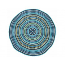 Sebra floor mat in multicolour for boys