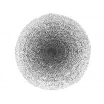 Sebra floor mat gradient black and white
