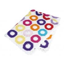 Sindibaba: Crochet Baby Blanket - rose