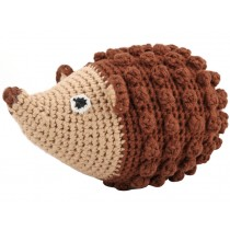 Sindibaba Crochet Cuddly Toy Rattle HEDGEHOG