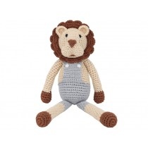 Sindibaba Crochet Cuddly Toy Rattle Lion LEON