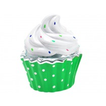 Silly Gifts money box CUPCAKE GREEN