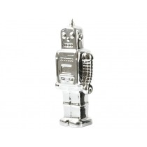 Silly Gifts money box SILVER ROBOT