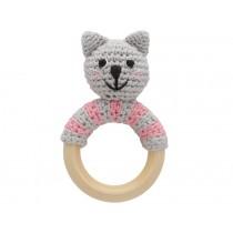 Sindibaba rattle ring cat KITTY