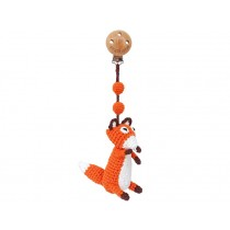 Sindibaba Crochet Pram Clip FOX