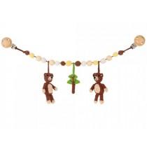 Sindibaba stroller chain 2 BEARS