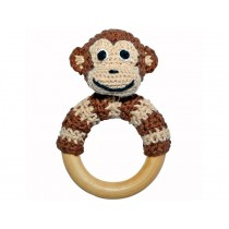 Sindibaba monkey rattle brown