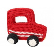 Sindibaba Rattle Car RED