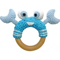 Sindibaba crab rattle blue