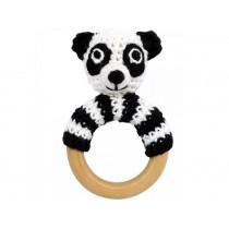 Sindibaba panda rattle ring