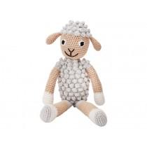 Sindibaba Crochet Cuddly Toy Rattle SHEEP