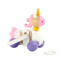 Pull-along toy UNICORN