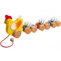 Pull-along toy HEN