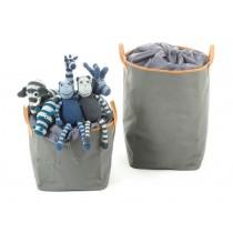 Smallstuff Storage basket dark grey