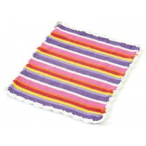 Smallstuff stroller blanket multi stripe