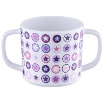 Smallstuff cup handles lavender star