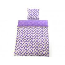 Smallstuff bedding purple daisy