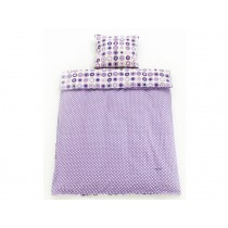 Smallstuff Bedding STARS purple
