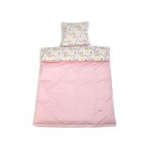 Smallstuff Reversible Bedding Animals soft pink