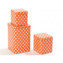 Smallstuff metal box stars orange
