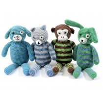 Smallstuff crochet teddy for boys