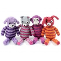 Smallstuff crochet teddy for girls