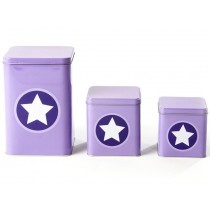 Smallstuff metal box star lavender