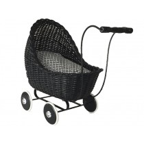 Smallstuff dolls stroller black