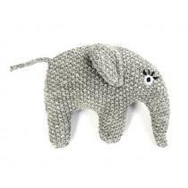 Smallstuff Rattle ELEPHANT grey