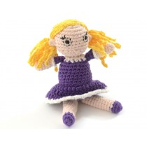 Smallstuff rattle crochet doll Rosaline