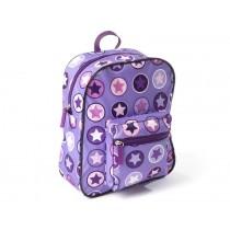 Smallstuff backpack purple rose circle star