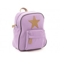 Smallstuff backpack heather leather star