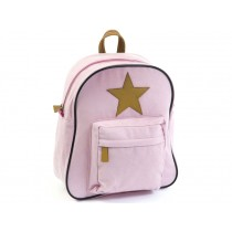 Smallstuff backpack rose leather star large