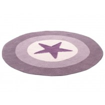 Smallstuff Carpet Star dark rose