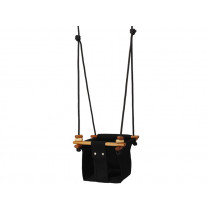 Solvej Swings baby and toddler swing CORAL BLACK