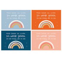 Sonntagskinder Postcard Set RAINBOW