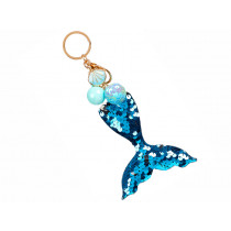Souza Key Chain Mermaid BLUE Zelia