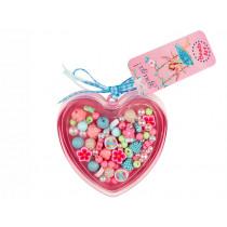 Souza Heart Bead Kit DARLENE Blue