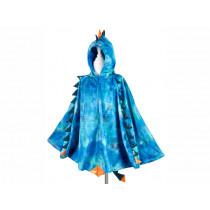 Souza Costume Cape DRAGON Blue (4-7 yrs.)