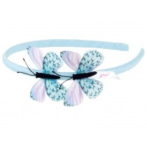 Souza Alice Band BUTTERFLY blue