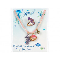 Souza Gift Set NECKLACE & RING Mermaid Patty