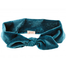 Souza Velvet Headband TITIA petrol