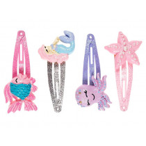 Souza Hair Clips SEA CREATURES Myra Pink & Purple