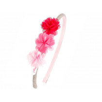 Souza Alice Hair Band LEYDA Pink Flowers