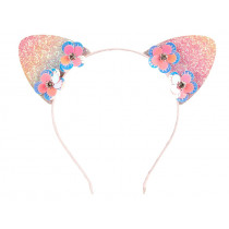 Souza Hair Band LEILA with Ears pink